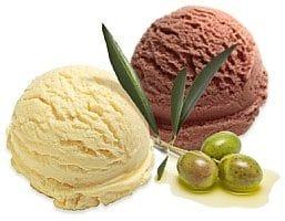 sladoled maslinovo ulje